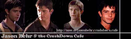 Jason Behr @ the CrashDown Cafe
